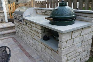 masonry outdoor kitchen builders Chicago